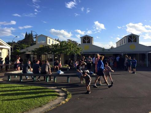 Community BBQ following Leavers Mass 2016
