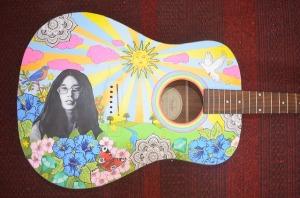 http://pixabay.com/en/acoustic-guitar-hippie-guitar-487044/