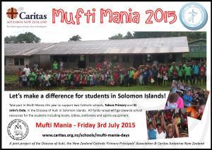 Mufti Mania 2015 Flyer