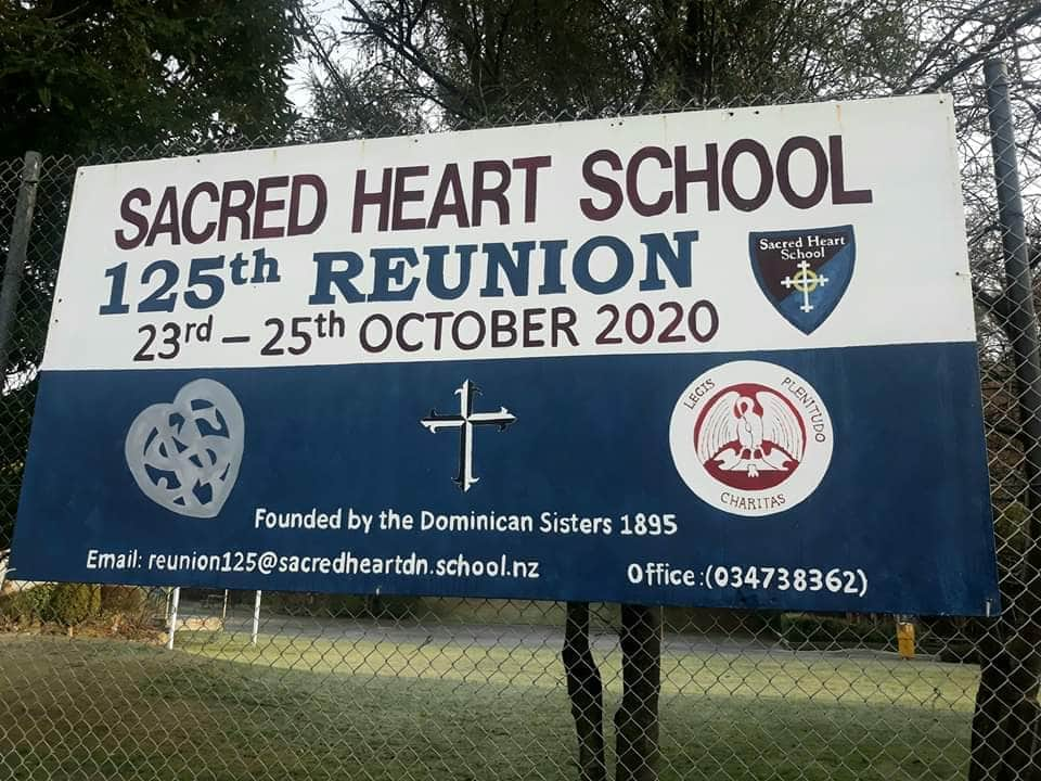 Sacred Heart School Jubilee 125th Celebrations!  - Labour Weekend 2020